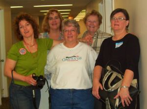 Me (second from left) with my buddies at MoveOn Regional Coordinator training in Chicago, July 2008.